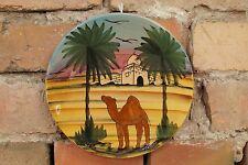 50er Wandteller Mid Century Design Künstler Teller Vintage 50s Keramik Porzell