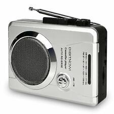 AM/FM Portable Pocket Radio and Voice Audio Cassette Recorder Cassette Player