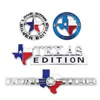 TEXAS FLAG EDITION Badge Emblem Truck Tailgate Sticker Decal Metal Chrome OEM