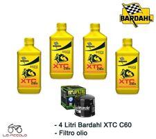 KIT TAGLIANDO 4 LT OLIO BARDAHL XTC 10w40 + FILTRO POLARIS Ranger 2X4 500 2004