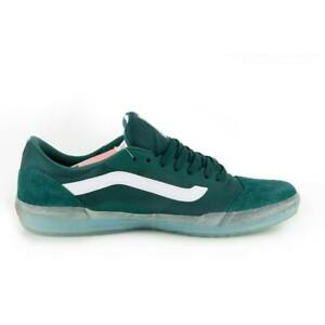 "Vans Off The Wall ""Ave Pro"" Sneakers (Pine/Clear) Skate Shoes"