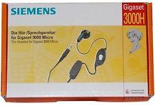 Siemens Kopfsprechgarnitur Headset für Analog Telefone Siemens Gigaset Kopfhörer