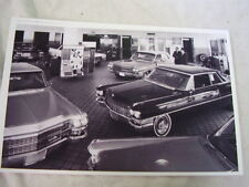 1963 CADILLAC  SHOW ROOM   11 X 17 PHOTO  PICTURE