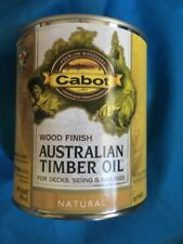 Cabot 3400 Australian Timber Oil Penetrating formula, Natural, 1 Quart