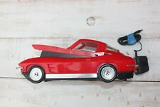 Vhs Video Tape Cassette Rewinder Red 1963 Chevy Corvette Car With Adapter (Eaa)