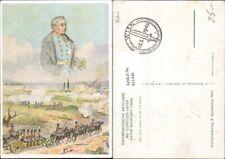 411446,Künstler Ak F. N. Nemee Österr. Artillerie b. Custozza unter Vater Radetz