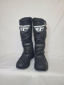 Fly Racing Maverick Boot (SZ 12, Black)