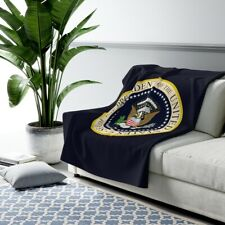 Presidential Seal Sherpa Fleece Blanket, President of the United States