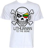 LITHUANIAN T-SHIRTS MENS FUNNY NOVELTY LITHUANIA FLAG SLOGAN JOKE GIFTS T-SHIRT