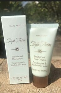 MARY KAY TRIPLE ACTION DECOLLETE & HAND COMPLEX 1.25 OZ NOS