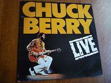 CHUCK BERRY LIVE VINYL LP CBR 1007 ROCK N ROLL
