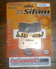 pastiglie freno anteriore Sifam Suzuki GSX 1300 B-king 2008 à 2012 (S1443N)