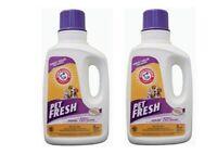 Arm & Hammer Pet Fresh Carpet Upholstery Cleaner Stain Odor Remover 2 Bottles