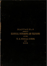 315 Page 1905 Signal Corps Manual No 3 Electrical Instruments & Telephones on CD