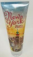 1 BATH & BODY WORKS NEW YORK BIG APPLE CARAMEL ULTRA SHEA CREAM HAND LOTION 8 OZ
