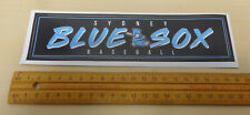 2018/19 Sydney Blue Sox Sticker - Australian Baseball League (ABL)
