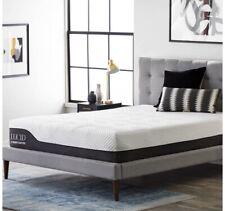 Lucid King Size Memory Foam Mattress 12inch Hybrid an Matching Bed Frame