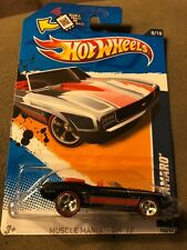 Hot Wheels 2012 Super Treasure Hunt  '69 Camaro   Muscle Mania