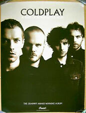 COLDPLAY promo POSTER A Rush Of Blood GRAMMY VERSION 2002 -- 18 in x 24 inches