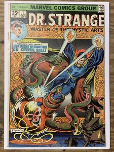 Dr. Strange #1/Bronze Age Marvel Comic Book/Eternity/VG-FN