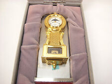 Bulova Miniature Grandfather Clock w/ Case B-0531