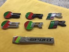 Jaguar 3d R Sport R S Emblem Metal Badge Grille Or Adhesive Trunk Xjr Xk Xf Xj
