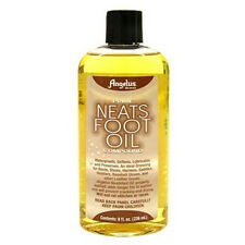 Angelus Neats Foot  Neatsfoot Oil Waterproof Shoes Boots Saddle Leather Compound