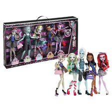 Monster High Exclusive Dance Class 5 Dolls Rochelle Gil Lagoona Robecca Operetta