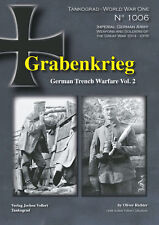 TANKOGRAD 1005/1006 GRABENKRIEG GERMAN TRENCH WARFARE WWI TWO VOLUMES