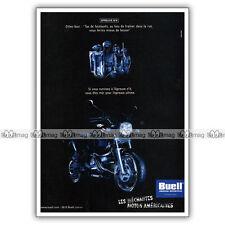 PUB BUELL M2 CYCLONE - Ad / Publicité Moto de 2000 #6