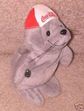 "Coca Cola Seal 1997 8 1/2"" Stuffed"