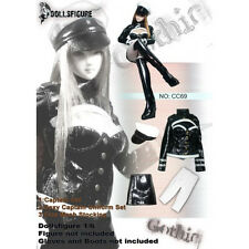 DOLLSFIGURE FEMALE CAPTAIN UNIFORM SET - FOR 1/6TH SCALE FIGURES - NIP
