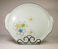 Permaware Nobility Large Handled Serving Plate Vintage