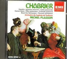 CHABRIER - Suite Pastorale / Espana / Joyeuse Marche etc - Michel PLASSON - EMI