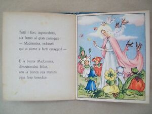 Fiaba vintage J. Colombini Leggenda delle pratoline editrice Piccoli Mariapia