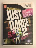 Just Dance 2 - Nintendo Wii 2010 - Game & Case - Ubisoft