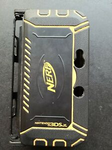 3DS For Nintendo XL Maximum Protection NERF Armor Case Black/Orange