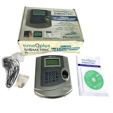 Acroprint Biometric TimeQplus TQ100 Time and Attendance System Terminal