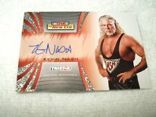 TNA Wrestling Autograph Card Kevin Nash A12 2010