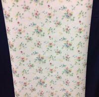 Pastel Flowers Pink Blue Green Wallpaper Norwall #CN22636 (Lot of 3 Dbl Rolls)