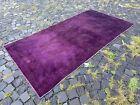Turkish vintage rug, Carpet, Bohemian rug, Handmade wool rug | 3,9 x 7,6 ft
