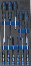 Module de servante d'atelier - tournevis plat, cruciforme, précision 11 pièces