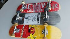 Lot of 3 Skateboards Revive, Descendents, Toy Machine.