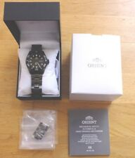 Orient Ray Raven II Automatic Black Dial Mens 200m Watch FAA02003B9