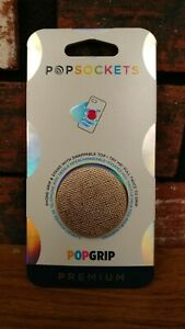 PREMIUM Popsocket PopGrip Phone Holder - Saffiano Rose Gold - 800509