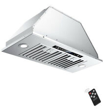 IKTCH 30 inch Built-in/Insert Range Hood 900 CFM Ducted/Ductless Stainless Steel