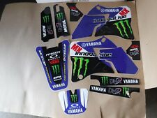 TEAM  YAMAHA GRAPHICS  YZ125 YZ250  1996 1997 1998 1999 2000 2001