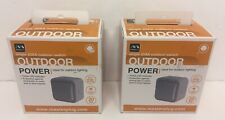 2 x Masterplug WP12 IP66 Outdoor Power Switch Single 20AX New & boxed Best price