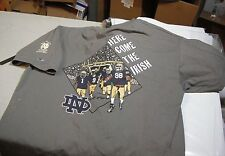 1998 Notre Dame Football Annual  T-Shirt Champion X-Large Great Condition