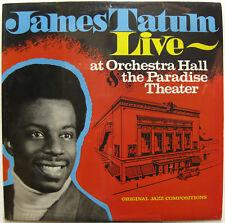 JAMES TATUM Live 1980 US ORG Sealed JAZZ LP Detroit MICHIGAN Trio +++